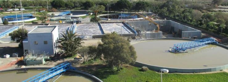 depuradora El Bobar en Almería
