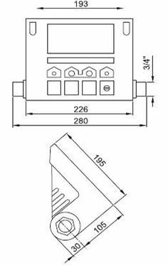 medidas descalcificador electrónico