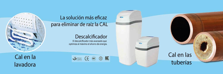 descalcificador de sal