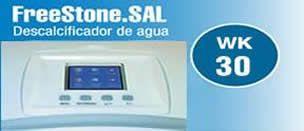 display electrónico descalcificador de sal wk30