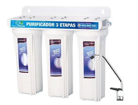 filtro de agua tres etapas