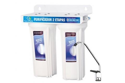 purificador de agua dos etapas