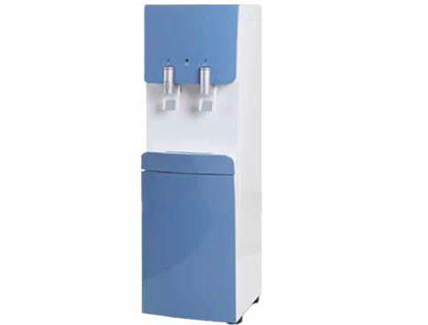 fuente de agua pure blue