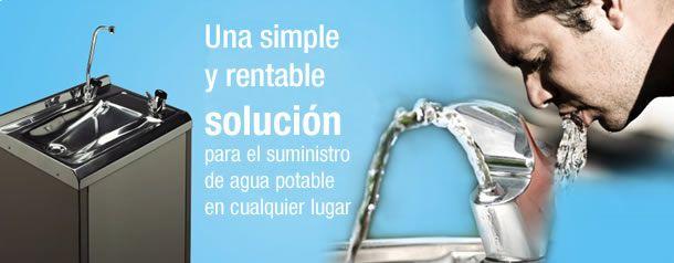 fuente de agua para empresas y oficinas