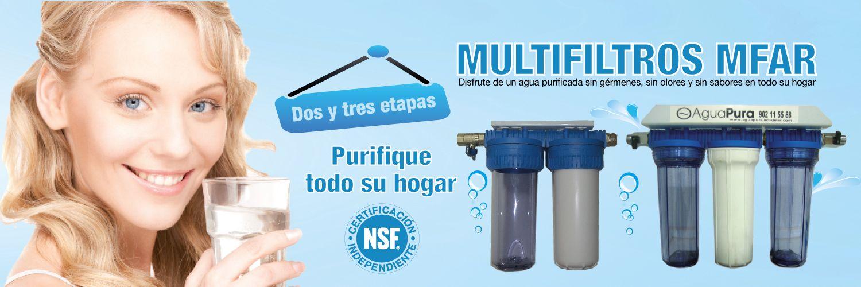 Multi filtro de agua mfar