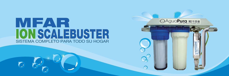 multi filtro Ion ScaleBuster