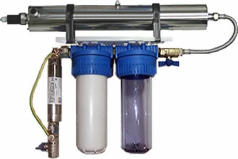 Filtro para agua de pozo con ultravioleta