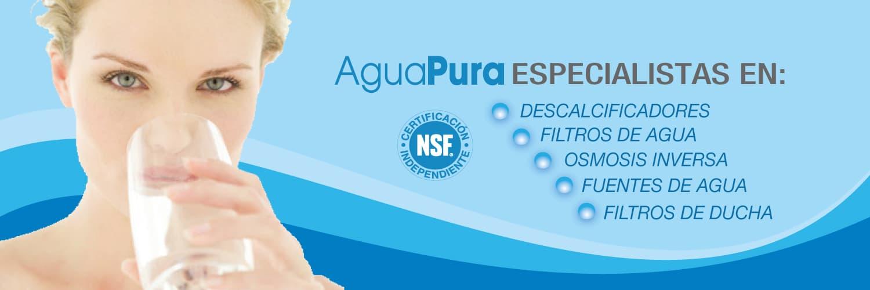 Descalcificadores | Filtros de agua | Purificadores de agua | Ósmosis inversa | Fuentes de agua | Filtros de ducha